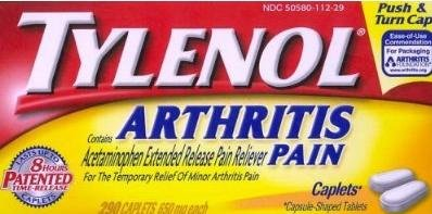 Tylenol Arthritis Pain (650 mg), 290-Count Caplets