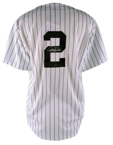 Derek Jeter Signed Replica Jersey - SM Holo - Autographed MLB Jerseys