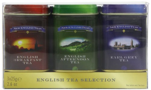 New English Teas English Mini Tin Triple Pack Loose Tea 75 g (Pack of 2)