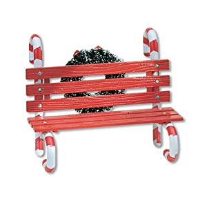 #!Cheap Department 56 Village Candy Cane Bench