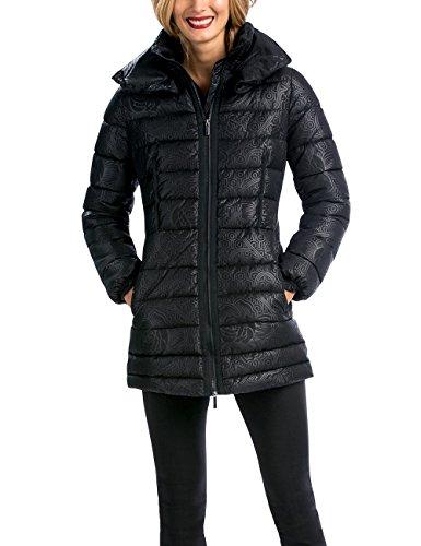 Desigual - ABRIG_ARTEMISA, Cappotto da donna, nero (negro), 46