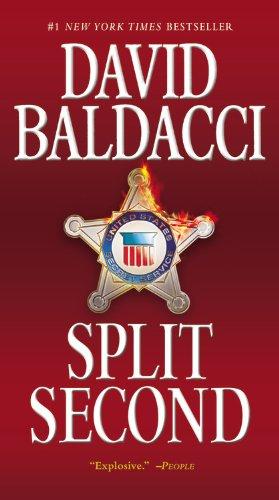 Buchseite und Rezensionen zu 'Split Second (King & Maxwell Series, Band 1)' von David Baldacci