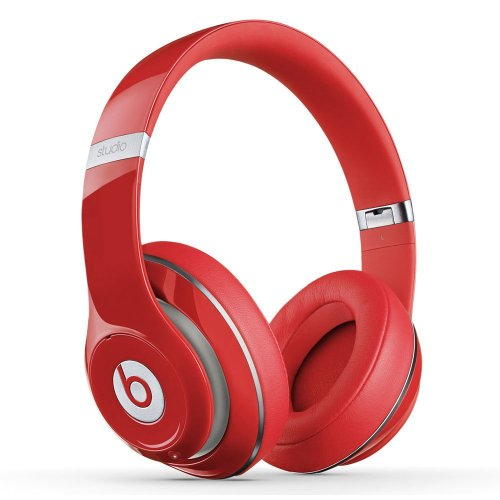Beats by Dr. Dre STUDIO | Studio 2.0 Over-Ear Headphone (Red 900-00078-01)