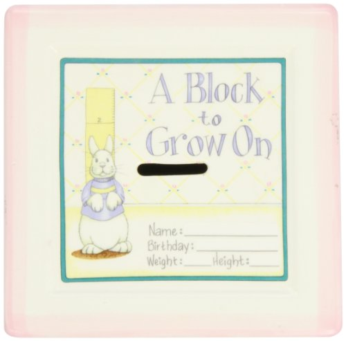 Child to Cherish ''A Block To Grow On'' in Pink