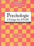Psychologie à l'usage des STAPS