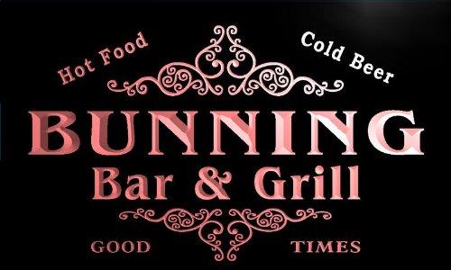 u06058-r-bunning-family-name-bar-grill-cold-beer-neon-light-sign-barlicht-neonlicht-lichtwerbung
