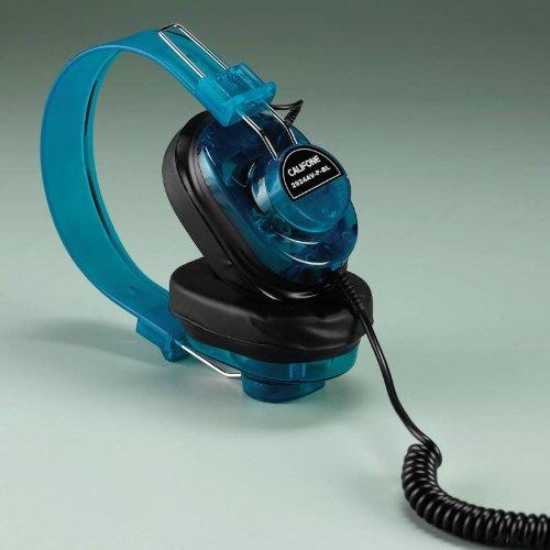 Califone Deluxe Monaural Headphones - Blueberry Color