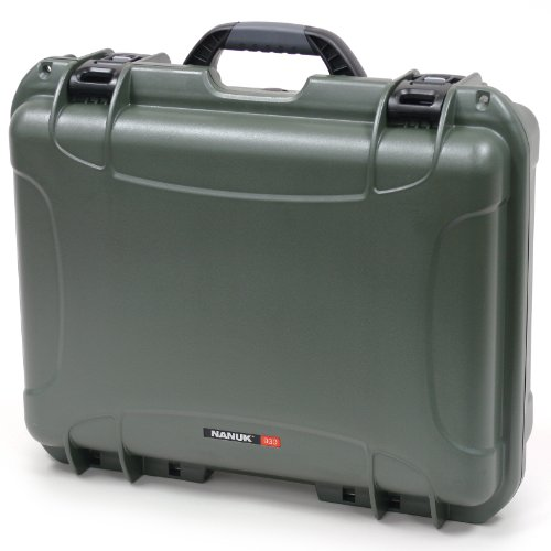 Nanuk 930 Case With Cubed Foam (Olive)
