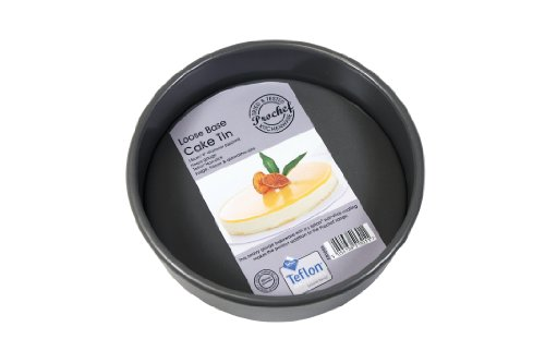 Master Class Non-Stick Deep Round Cake Tin With Loose Base 23 cm Grey 9-inch