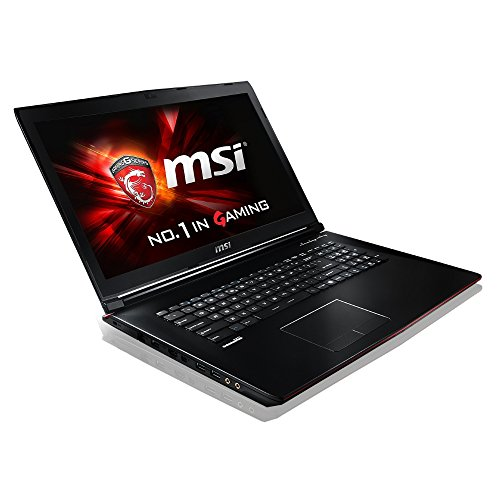 MSI 17.3-Inch GP72 6QE Leopard Pro Gaming Notebook (Black) – (Intel Core i7-6700HQ 2.6 GHz, 8 GB RAM, 1 TB Storage, Windows 10)