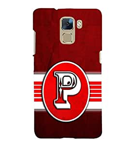 PRINTSWAG TYPOGRAPHY Designer Back Cover Case for HUAWEI HONOR 7
