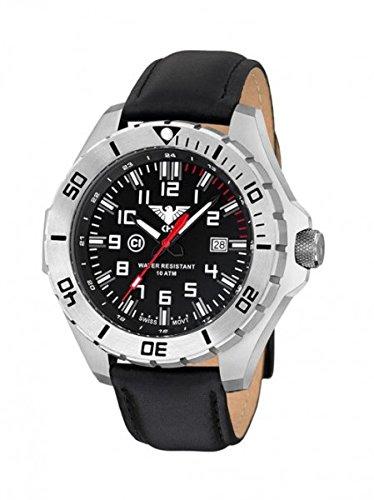 KHS Tactical orologio uomo Landleader Steel KHS.LANS.L