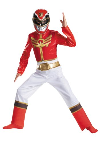 Disguise Power Ranger Megaforce Red Ranger Boy's Classic Costume