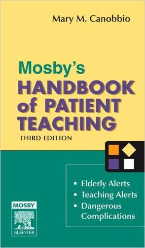 Mosby's Handbook of Patient Teaching, 3e