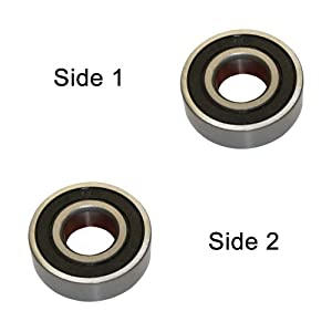 Superior Electric SE 629-2RS Replacement Ball Bearing - 9x26x8 replaces Makita 211058-6 from Superior Electric
