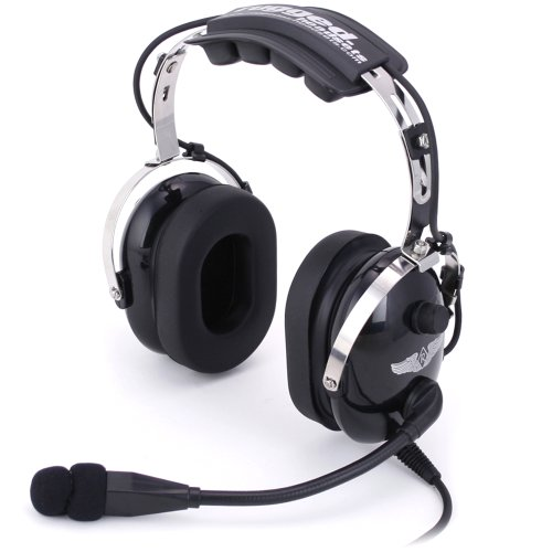 RA900 Rugged Air Stereo Aviation Headset Pilot
