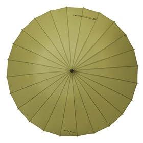 MABUベーシック24本骨傘 バジル(カーキ)