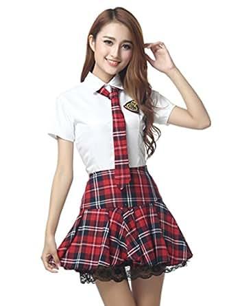 AKB 風 制服 コスチューム レディース Lサイズ