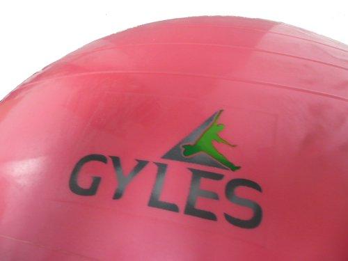 75cm PVC Anti-Burst gym swiss stability ball and hand pump