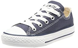 Converse Unisex Baby Infant/Toddler Chuck Taylor All Star Ox - Navy - 4 Infant
