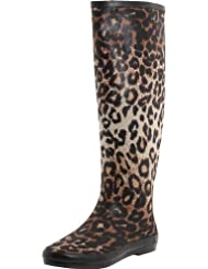 Very Volatile Women's Raindrop Leopard Boot