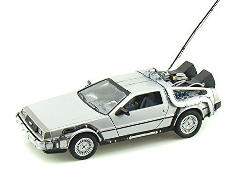 1981 Delorean Time Machine From Back to the Future I 1/24 by Collectable Diecast