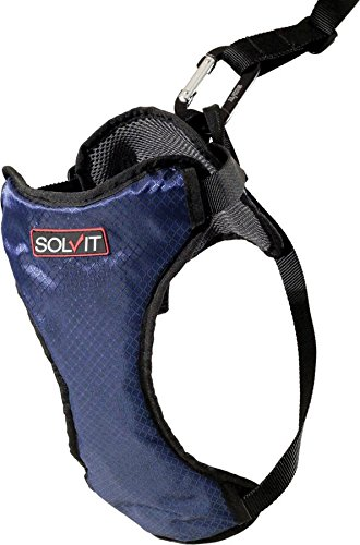 Solvit Products 62404 Deluxe Car Safety Harness Blue, Small/6-25Lbs (Solvit Pet Harness compare prices)