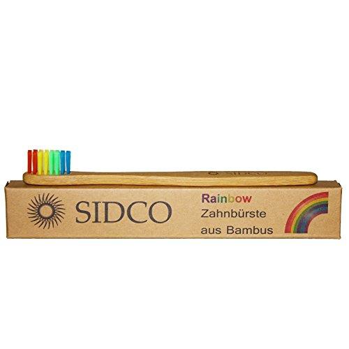SIDCO® Bambuszahnbürste Rainbow für Kinder thumbnail