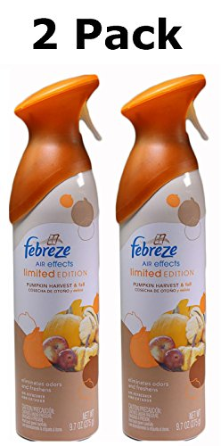Febreze Air Effects Pumpkin Harvest and Fall LIMITED EDITION Pack of 2