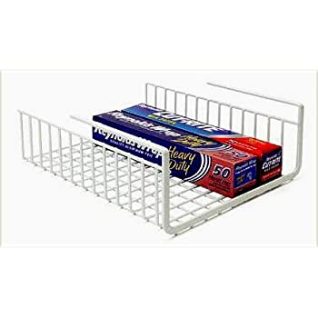 Set A Shopping Price Drop Alert For Under Shelf Wrap Rack in WHITE model 1983W from Organize It All