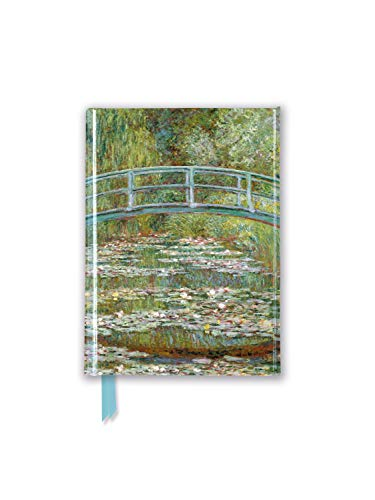 Claude Monet - Bridge over a Pond of Water-lilies Foiled Pocket Journal (Flame Tree Pocket Books) [Flame Tree Studio] (Tapa Dura)