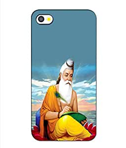 Crazymonk Premium Digital Printed 3D Back Cover For Apple I Phone 5S