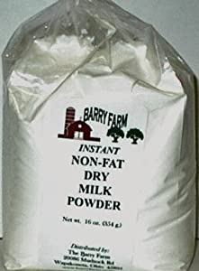 Instant Non Fat Milk Powder, 1lb.