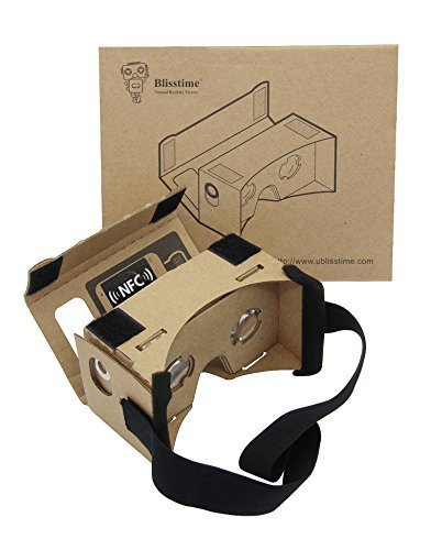 Why Should You Buy Blisstime Google Cardboard 3d Vr Virtual Reality DIY 3D Glasses for Smartphone wi...