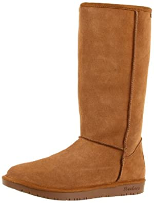 Skechers Women's Shelbys-Powder Puff Knee-High Boot,Chestnut,6.5 M US