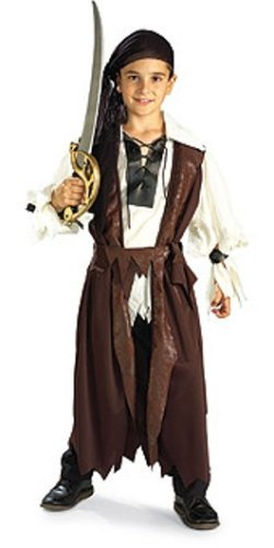 Caribbean Pirate Costume - Medium