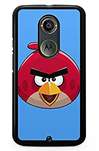Geekcases Angry Red Bird Back Case for Motorola Moto x (2nd Gen)