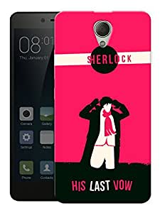 """Humor Gang Sherlock Holmes - The Last Wow Printed Designer Mobile Back Cover For """"Xiaomi Redmi Note 2"""" (3D, Matte, Premium Quality Snap On Case)"""
