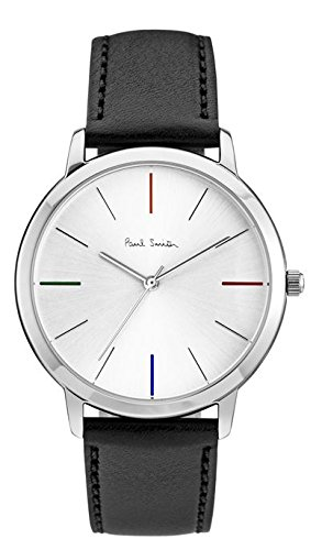 paul-smith-mens-quartz-watch-with-silver-dial-analogue-display-and-black-leather-strap-p10051
