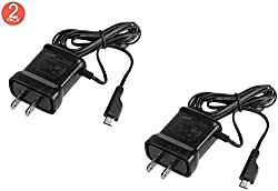 2x Pack OEM Samsung Micro Charger ETA0U10JBE for Galaxy S S2 S3 Note Exhibit Gravity Smart