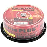 A-One Printable WHITE 8x Dual Layer DVD+R DL - 25 Pack DVDR