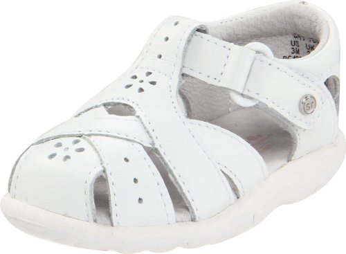 Stride Rite Srt Tulip Fisherman Sandal (Toddler),White,5 W Us Toddler front-40855