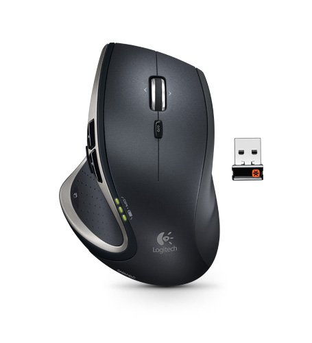 Logitech Performance Mouse MX - Mouse - laser - wireless - 2.4 GHz - USB wireless receiver