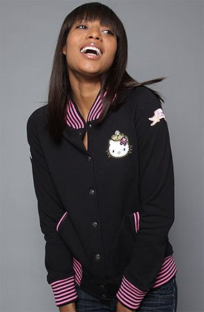 Product Descriptiontokidoki The Royal Kitty Jacket,Jackets for Women: Model