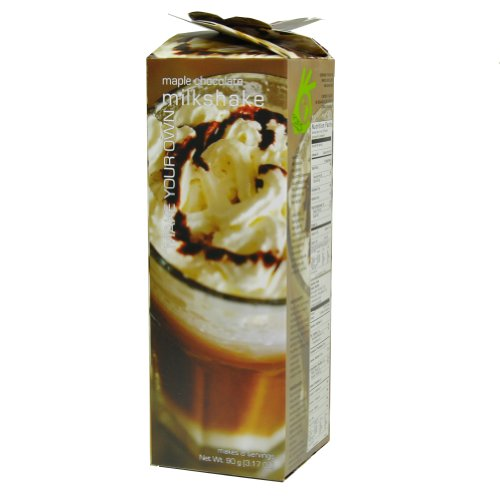 Foxy Gourmet Maple Chocolate Milkshake Mix, 3.17-Ounce Boxes (Pack of 4)