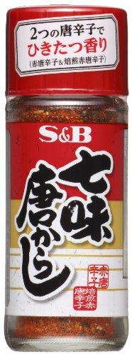 S&B 七味唐からし 28g×10個