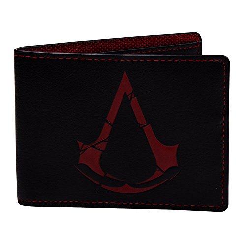 Assassin's Creed Porta carte di credito, nero (Rosso) - BIO-MW879911ASR