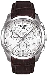 Tissot Couturier Silver Dial Chronograph Mens Watch T0356171603100