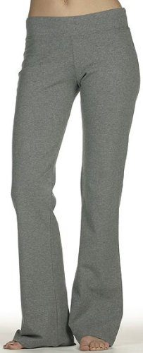 Bella Cotton Spandex Fitness Yoga Pant - Deep Heather 810 S