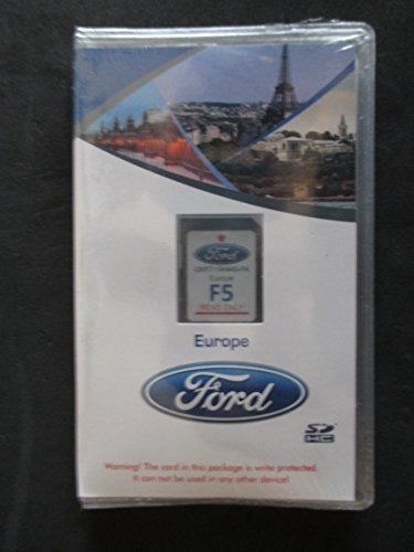 F5 EUROPE Latest Map Update to F4,F3 Ford lincoln Navigation SD card Map,SYNC MyFord Touch,fits 12-16 Focus Fusion Fiesta C-Max Mustang Taurus Edge Explorer escape F150 F250 GM5T-19H449-FA (Ford Escape Navigation Sd Card compare prices)